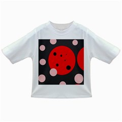 Red and pink dots Infant/Toddler T-Shirts