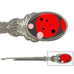Red and pink dots Letter Openers