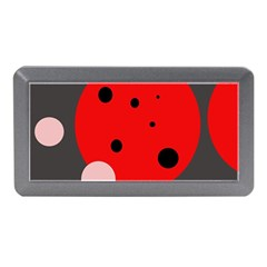 Red and pink dots Memory Card Reader (Mini)