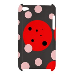 Red and pink dots Apple iPod Touch 4