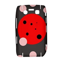Red and pink dots Bold 9700