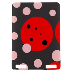 Red and pink dots Kindle Touch 3G