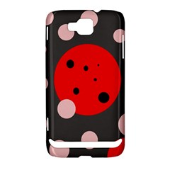Red and pink dots Samsung Ativ S i8750 Hardshell Case