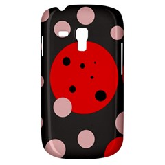 Red and pink dots Samsung Galaxy S3 MINI I8190 Hardshell Case