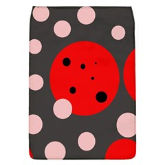 Red and pink dots Flap Covers (L)