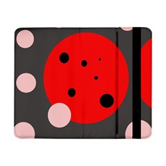 Red and pink dots Samsung Galaxy Tab Pro 8.4  Flip Case
