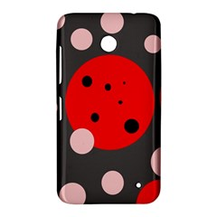 Red and pink dots Nokia Lumia 630