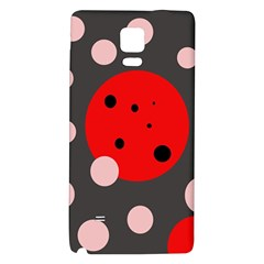 Red and pink dots Galaxy Note 4 Back Case