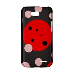 Red and pink dots LG L90 D410