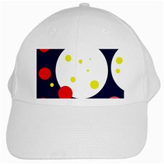 Abstract moon White Cap