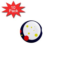 Abstract moon 1  Mini Magnet (10 pack)