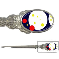 Abstract moon Letter Openers