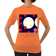 Abstract moon Women s Dark T-Shirt