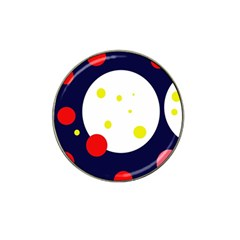 Abstract moon Hat Clip Ball Marker (10 pack)