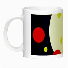 Abstract moon Night Luminous Mugs