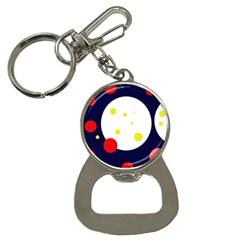 Abstract moon Bottle Opener Key Chains