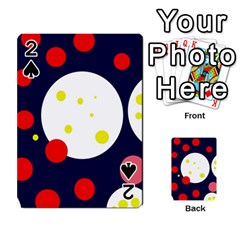 Abstract moon Playing Cards 54 Designs