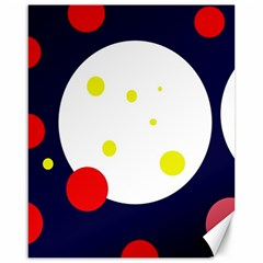 Abstract moon Canvas 16  x 20