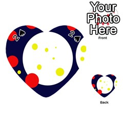 Abstract moon Playing Cards 54 (Heart)