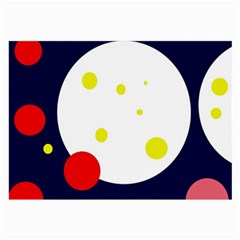 Abstract moon Large Glasses Cloth (2-Side)