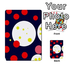 Abstract moon Multi-purpose Cards (Rectangle)