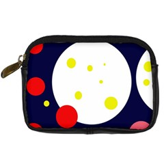 Abstract moon Digital Camera Cases