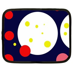 Abstract moon Netbook Case (XL)