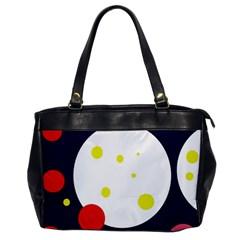 Abstract moon Office Handbags