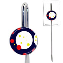 Abstract moon Book Mark