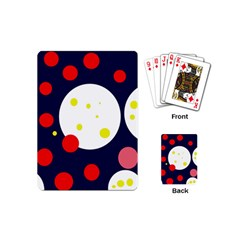 Abstract moon Playing Cards (Mini)