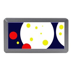 Abstract moon Memory Card Reader (Mini)