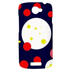 Abstract moon HTC One S Hardshell Case