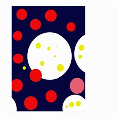 Abstract moon Large Garden Flag (Two Sides)