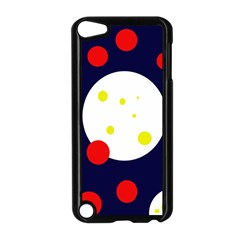 Abstract moon Apple iPod Touch 5 Case (Black)