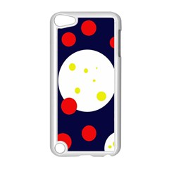 Abstract moon Apple iPod Touch 5 Case (White)