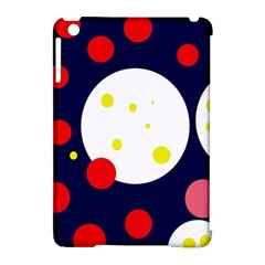 Abstract moon Apple iPad Mini Hardshell Case (Compatible with Smart Cover)