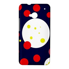 Abstract moon HTC One M7 Hardshell Case
