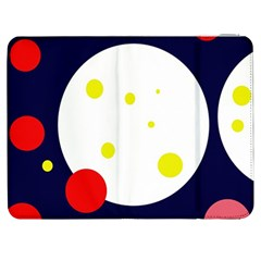 Abstract moon Samsung Galaxy Tab 7  P1000 Flip Case