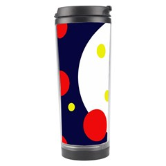Abstract moon Travel Tumbler