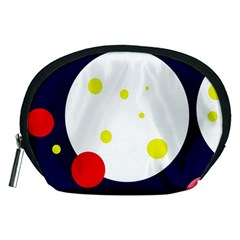 Abstract moon Accessory Pouches (Medium)