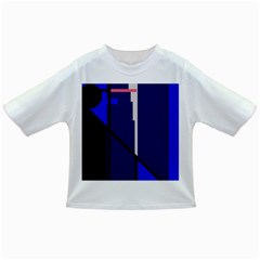 Blue abstraction Infant/Toddler T-Shirts