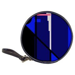 Blue abstraction Classic 20-CD Wallets
