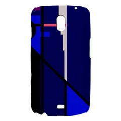 Blue abstraction Samsung Galaxy Nexus i9250 Hardshell Case