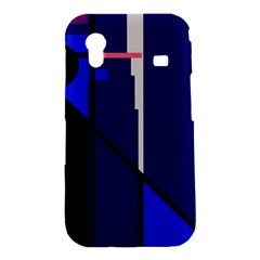 Blue abstraction Samsung Galaxy Ace S5830 Hardshell Case