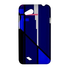 Blue abstraction HTC Desire VC (T328D) Hardshell Case