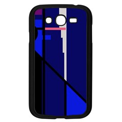 Blue abstraction Samsung Galaxy Grand DUOS I9082 Case (Black)