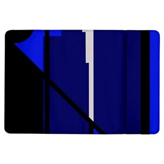 Blue abstraction iPad Air Flip