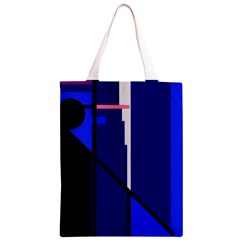 Blue abstraction Classic Light Tote Bag