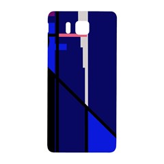 Blue abstraction Samsung Galaxy Alpha Hardshell Back Case