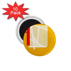 Basketball 1.75  Magnets (10 pack)
